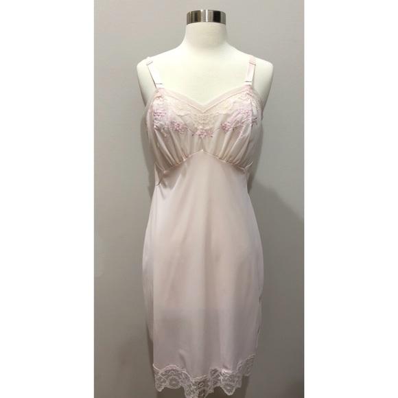 Vintage Intimates & Sleepwear | Pink Nightgown Nwt | Poshmark